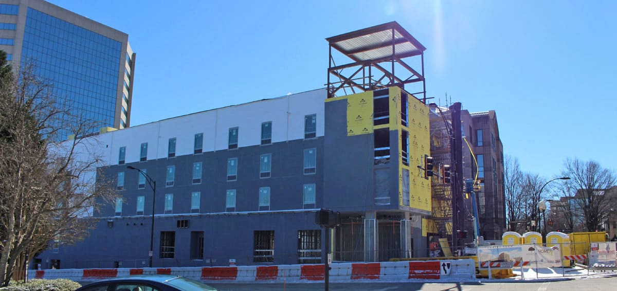 Home2 suites greenville on the rise for Homes 2