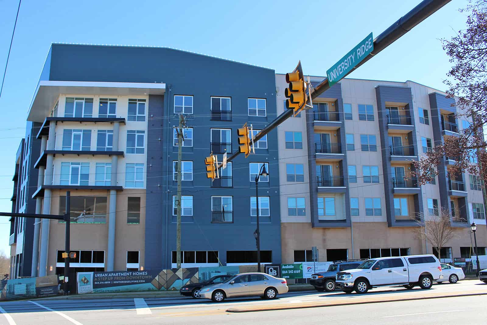 south ridge greenville on the rise