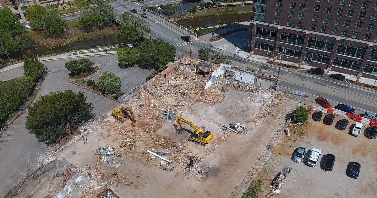 Building at 301 River Street Demolished to Make Room for Parking
