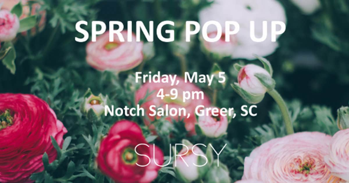 Sursy Pop-Up in Greer