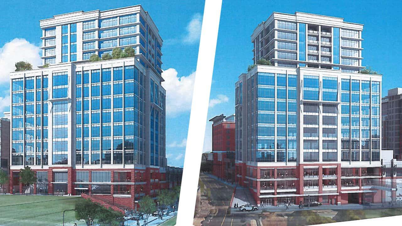 Renderings show design of building proposed for camperdown for Building design website